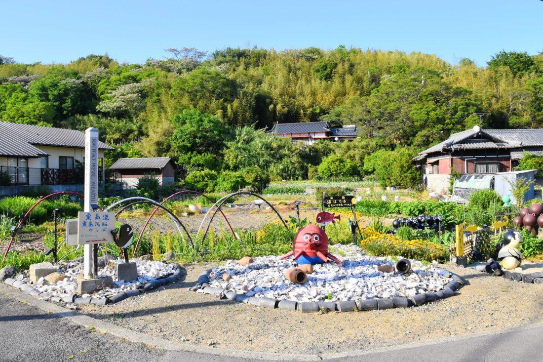 粟島の風景