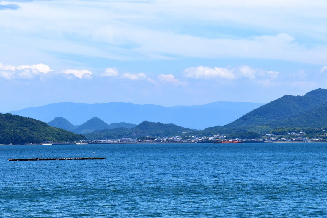 Takuma as seen from Awashima Island