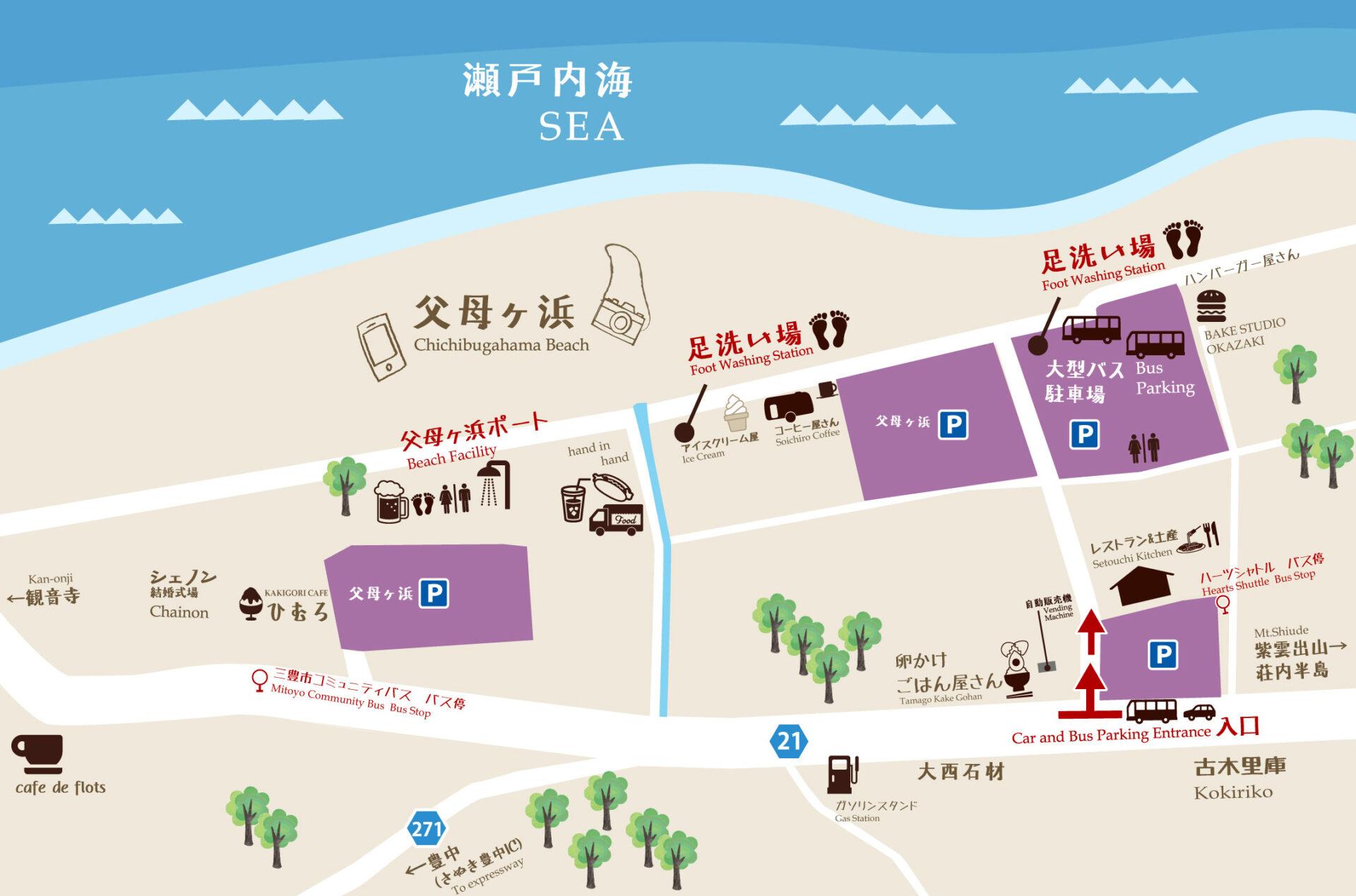 父母ヶ浜地図イメージ