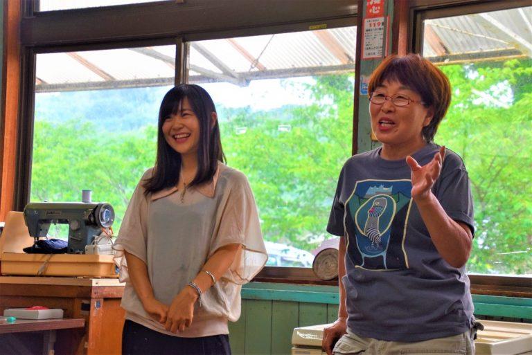 粟島・松田悦子さん