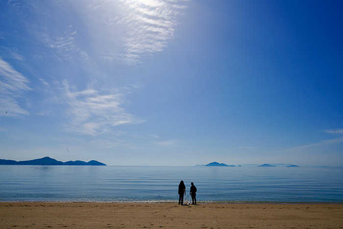 ▲青い海が見たい