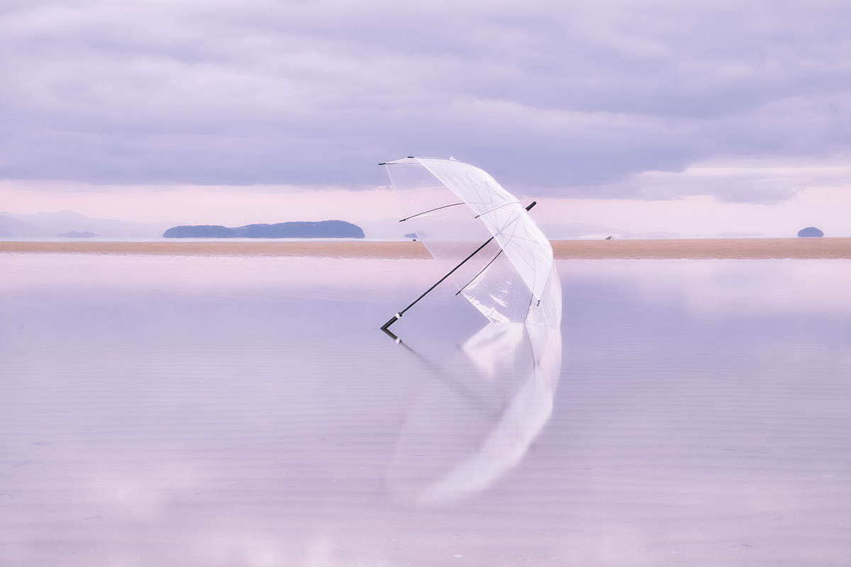 黒木 由美子(神奈川県)「おいりの刻(とき)」<br>[テーマ]B 海と空を繋ぐリフレクション